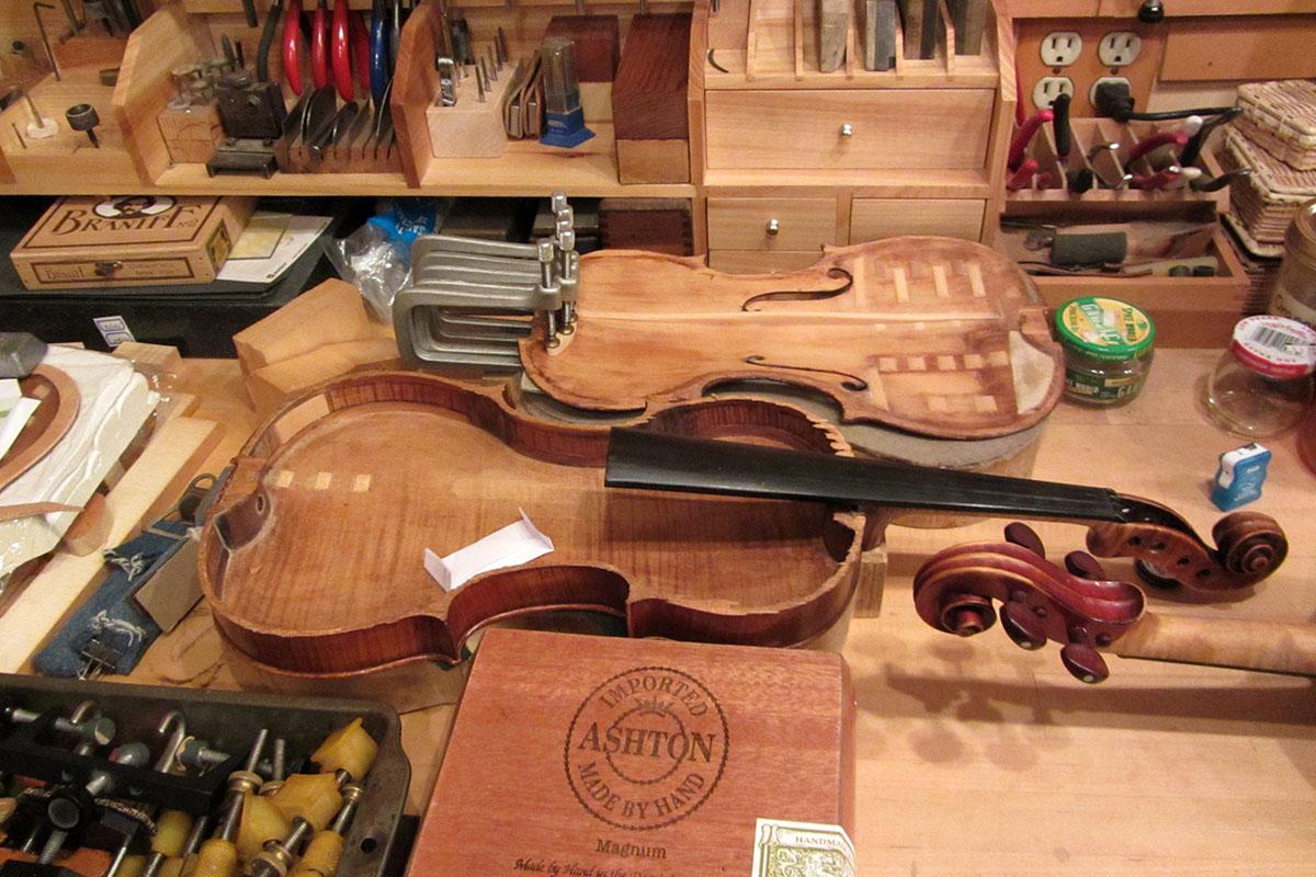 Shop Photo Gallery | Psarianos Violins Ltd